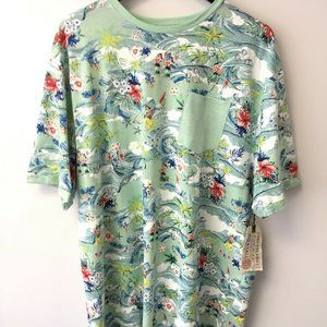 New Free Planet Hula Girls Graphic Tee Shirt 2XL